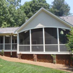 Screened Porch / <br/>Covered Patio Addition